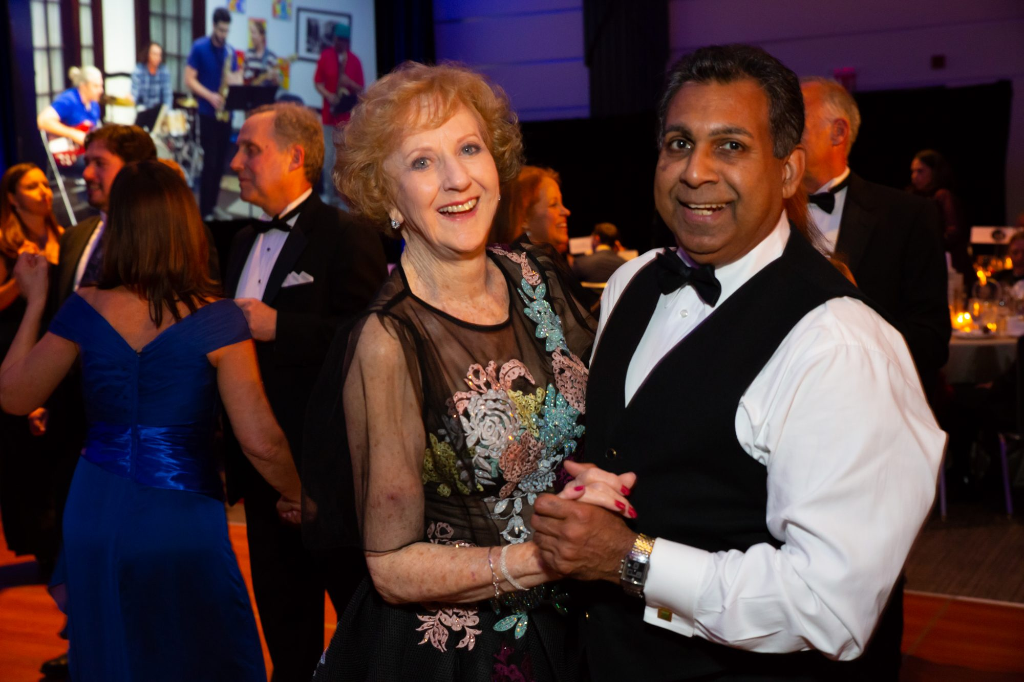 Guests hit the dance floor at the 110th Anniversary Gala