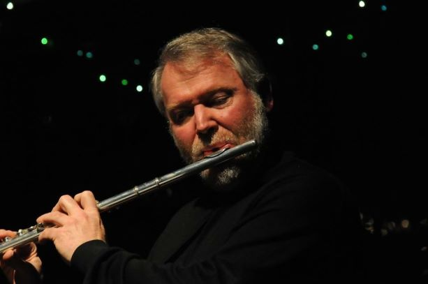Flute faculty member Tom Meany