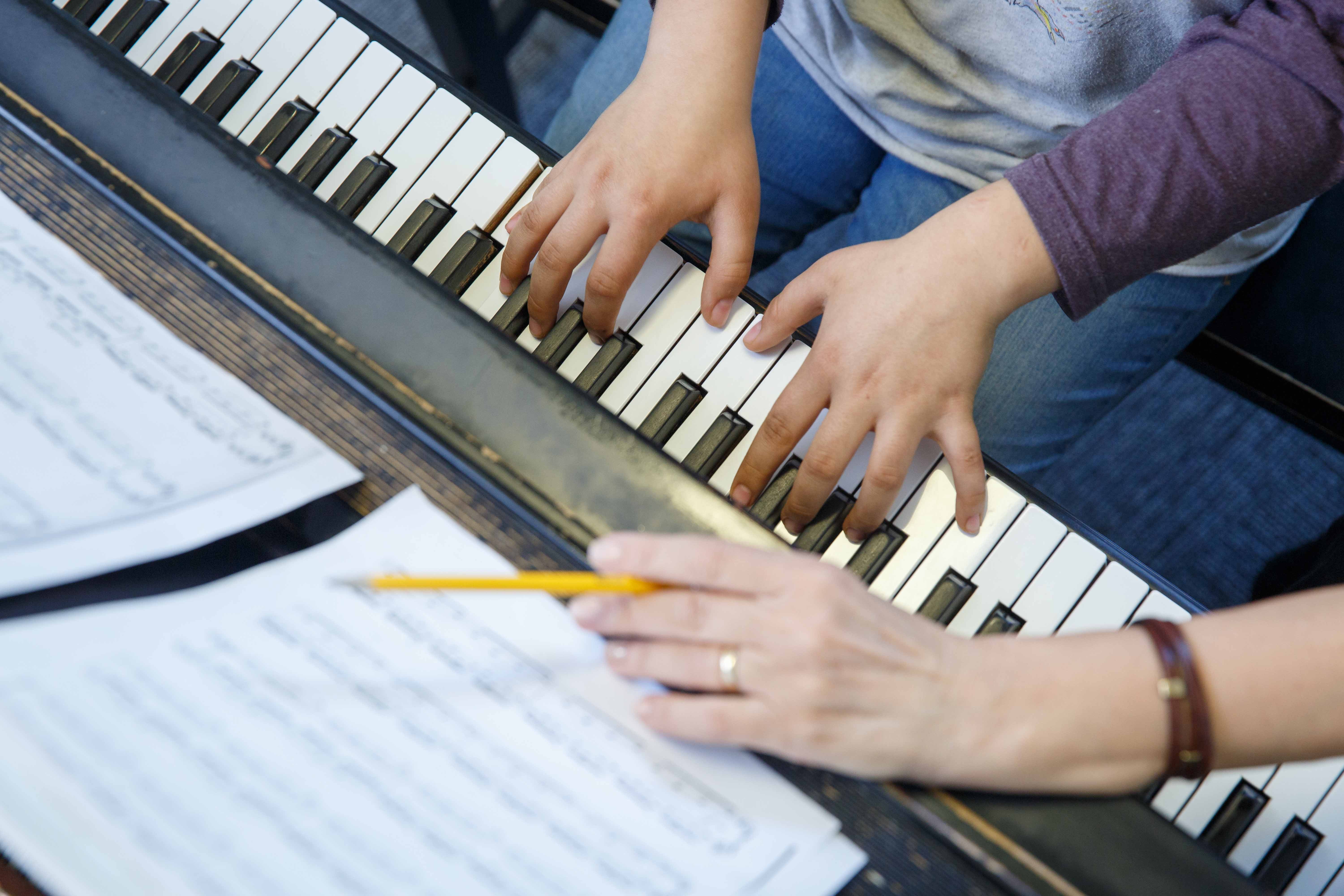 Piano lessons at Settlement