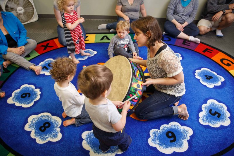 Children's Music Playshop class