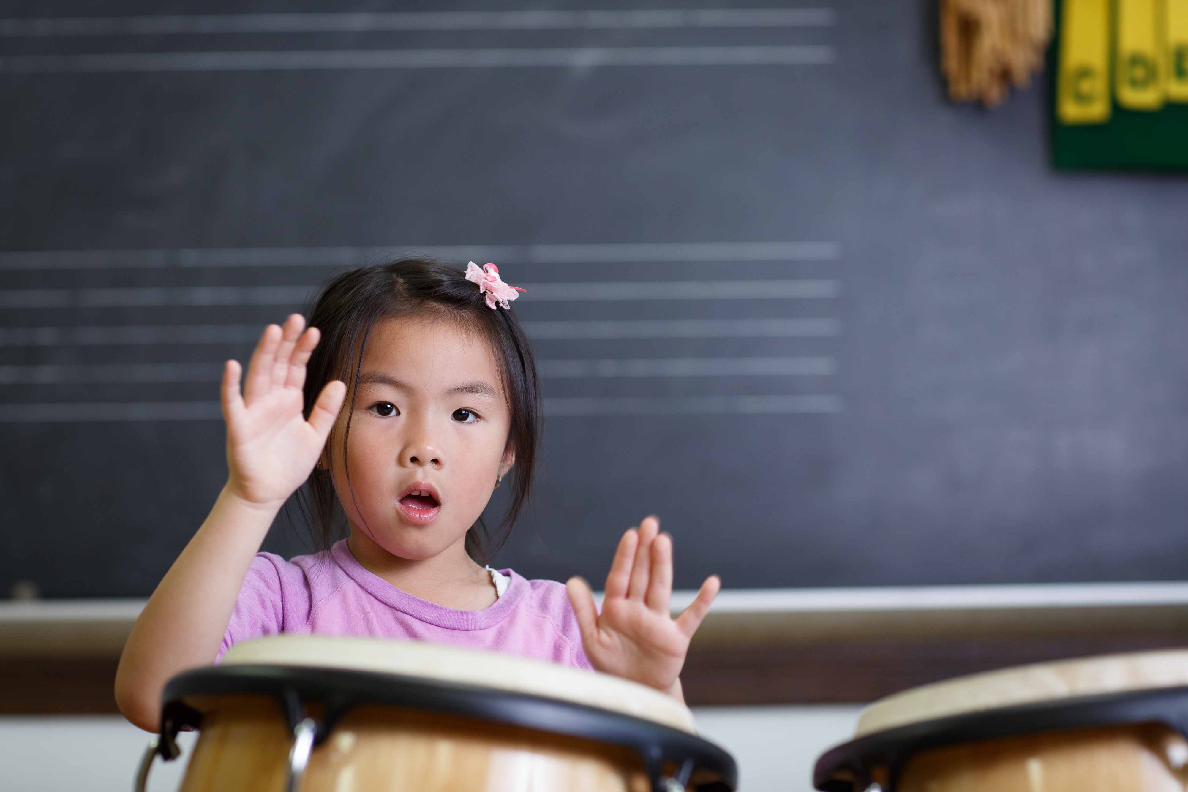 Children's Music Workshop class