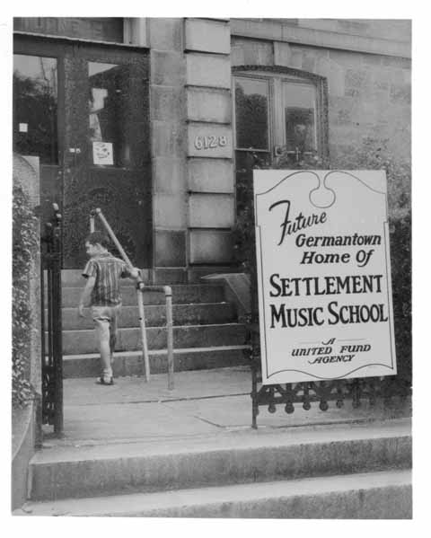 Historic photo of Settlement's Germantown Branch