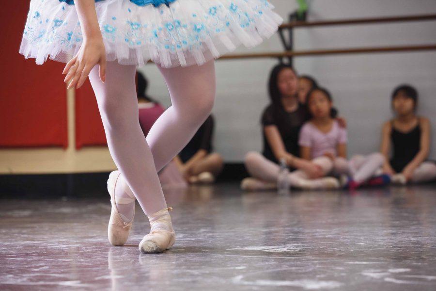 Settlement dance student