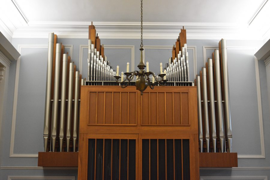 Organ at Mary Louise Curtis