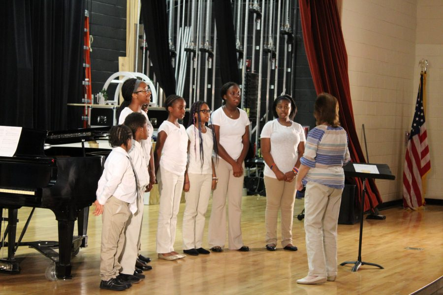 Choir performance at Camden's Open House