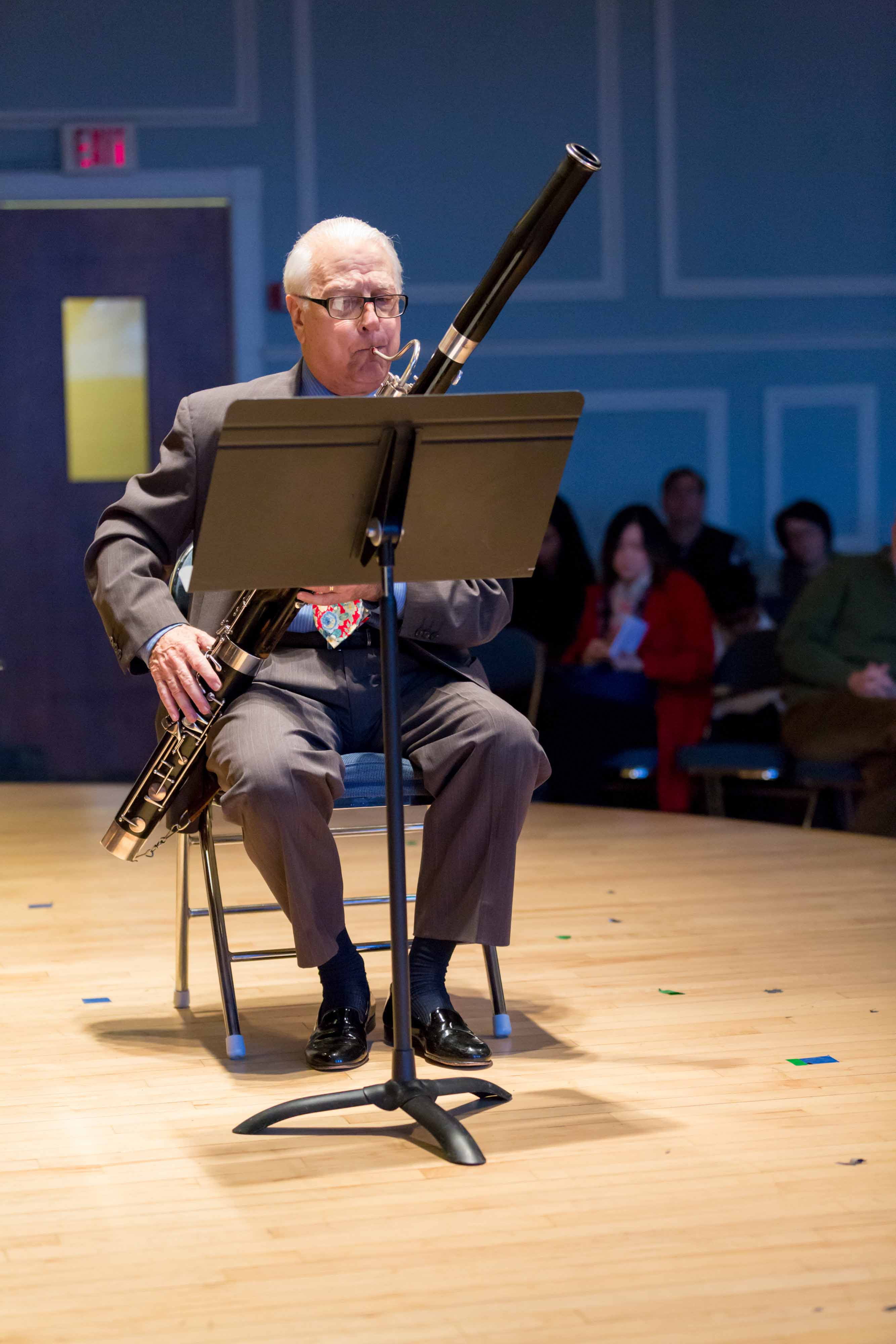 Bassoon performance at the Mary Louise Curtis Branch