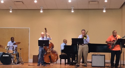 Adult students perform at the Wynnefield Branch