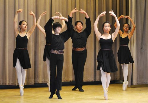 Dance students perform at the Mary Louise Curtis Branch