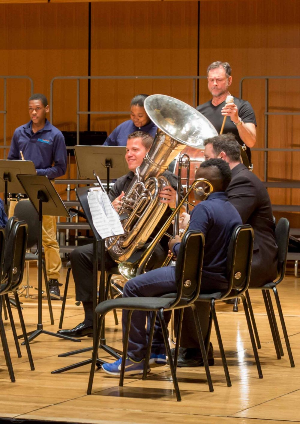 Tuba at Pathways to Performance