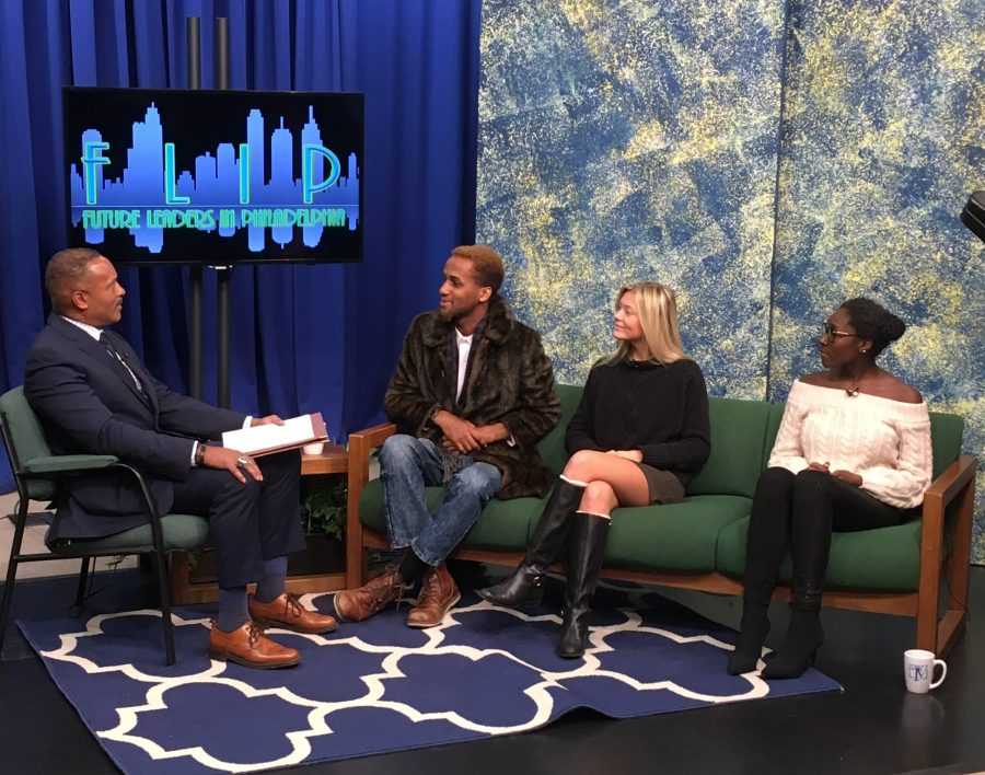 Three Settlement students were featured on LaSalle TV in the fall of 2018.