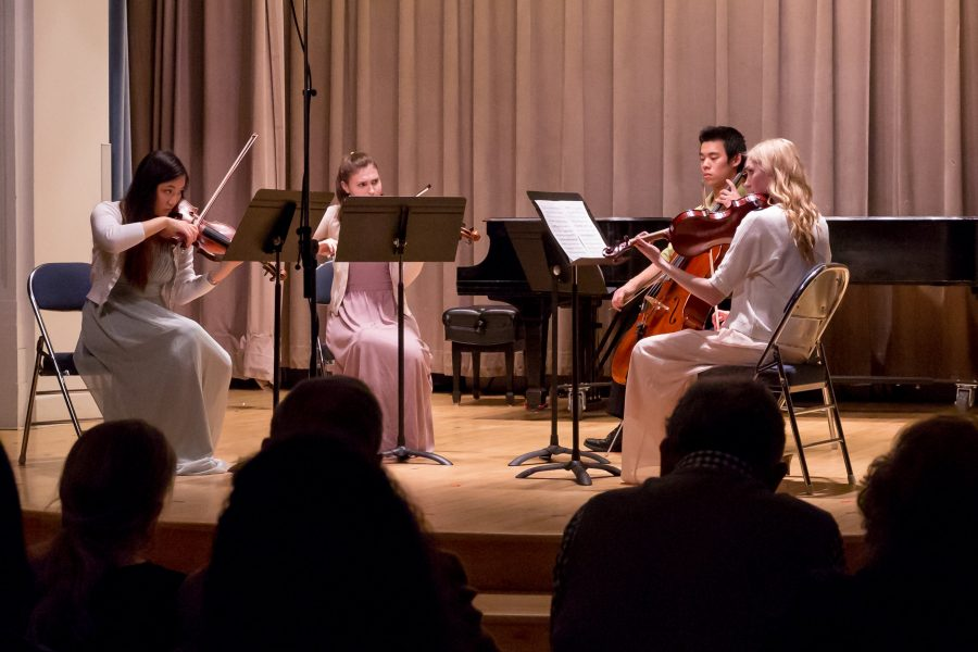 Advanced Study students perform at the 2018 Advanced Study Concert.