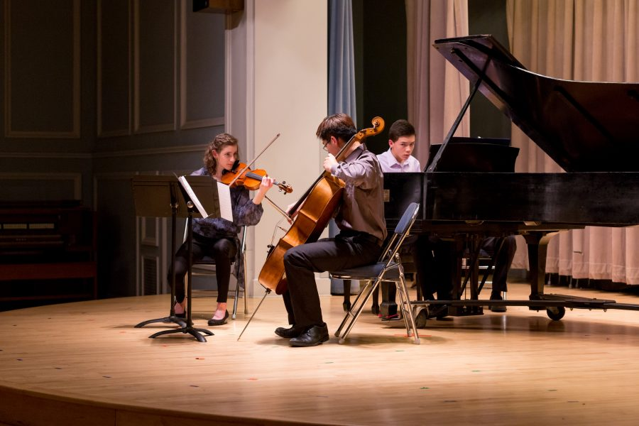 Advanced Study students perform at the 2018 Advanced Study Concert