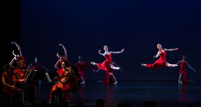 Settlement Music School students performed as part of the Metropolitan Ballet Company's Variations/Collaborations Concert.