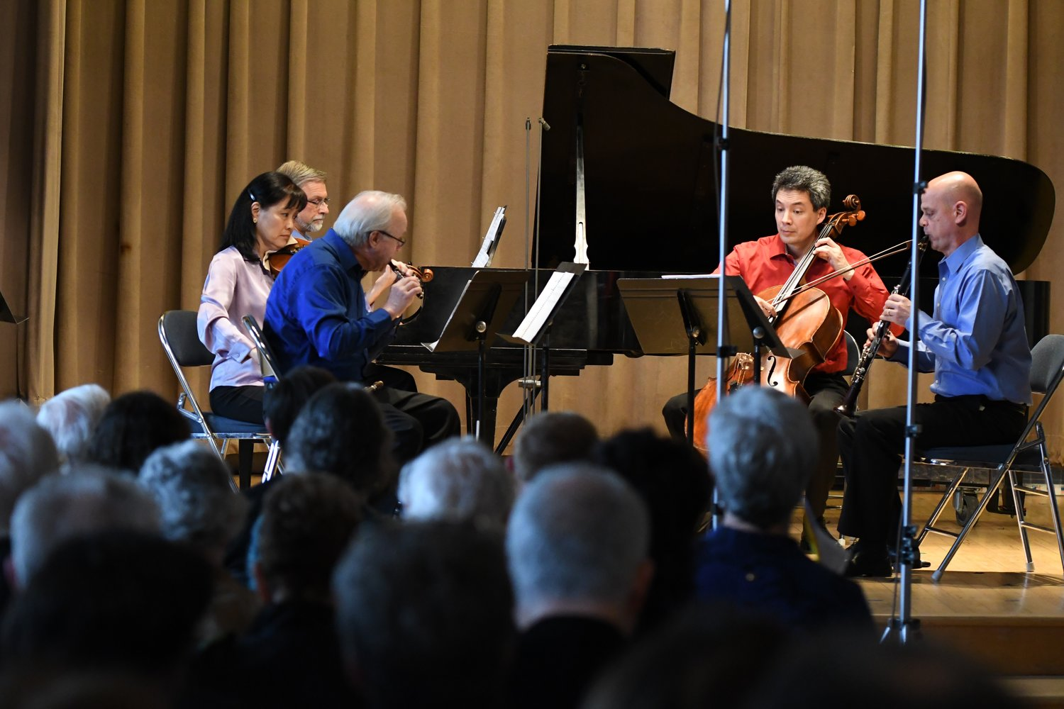 Settlement Music School students were recently featured in a Network for New Music Concert