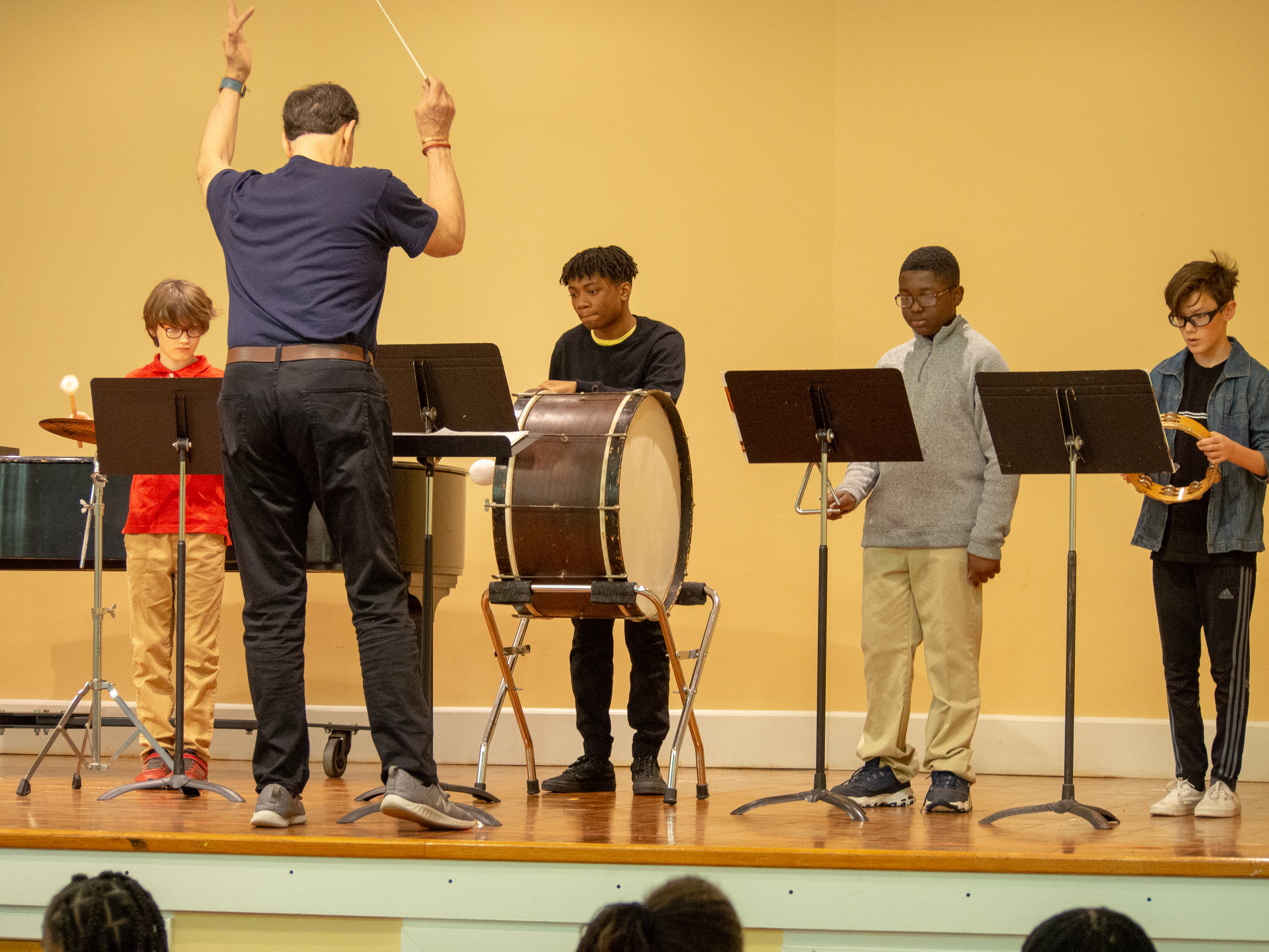 Settlement Music School students perform at the Germantown Branch