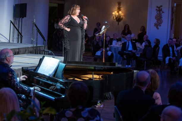 Jody Kidwell performs at Settlement's 111th Anniversary Gala