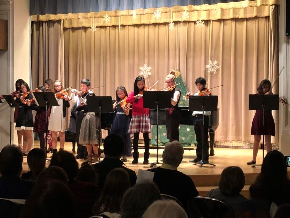 Kardon-Northeast Branch String Orchestra and the Mary Louise Curtis Branch Annual Holiday Concert