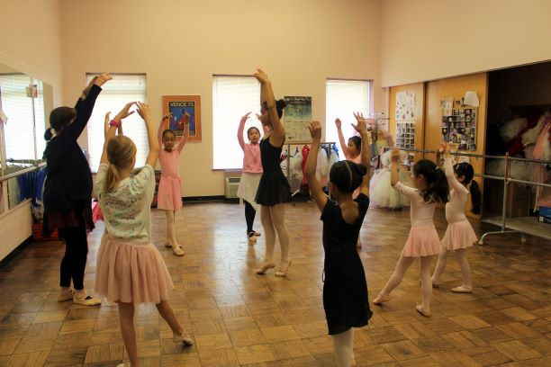 Ballet dancers at our Kardon-Northeast Branch Open House.