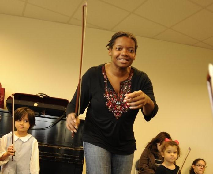 String faculty member Monique Johnson